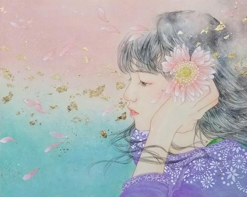こみや梢子  「花うらない」