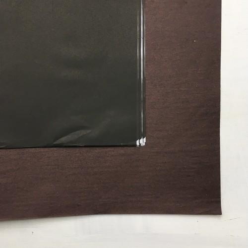 ベトナムの包装紙 黒・茶