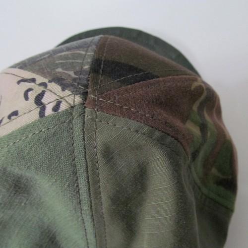 CAMO CRAZY PATTERN MODIFIED CAP
