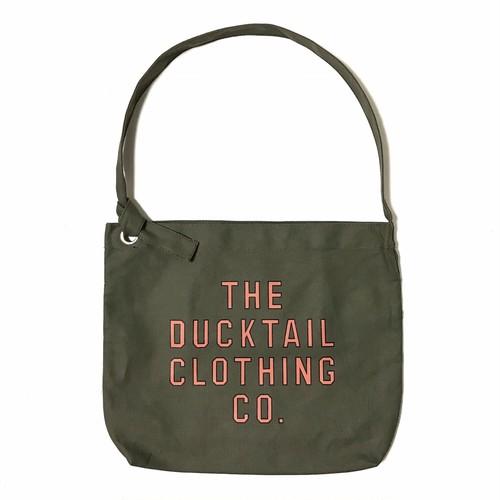 "DUCKTAIL CLOTHING ""NEWSPAPER BAG"" OLIVE ダックテイル クロージング ニュースペーパー バッグ"
