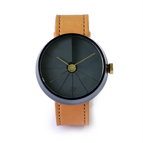 22designstudio 4th Dimension Watch (midnight) 腕時計 CW02003 ブラック