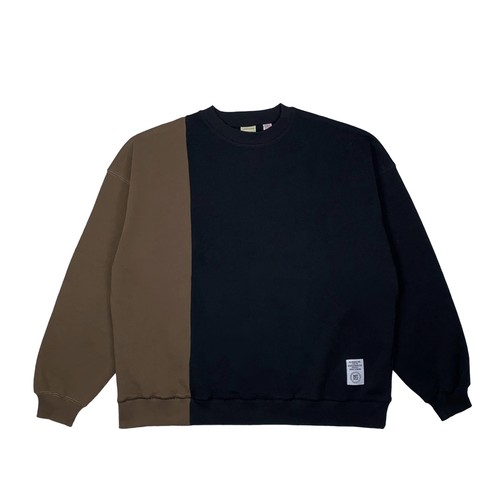 MFC STORE x Goodwear SWITCHING CREWNECK / BLACK