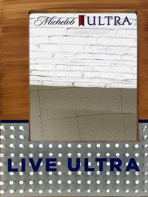品番0453 パブミラー 『Michelob ULTRA(ミケロブ ウルトラ)』 壁掛 アート ディスプレイ 011