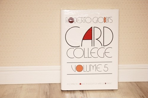 Card College Volume 5 by Roberto Giobbi