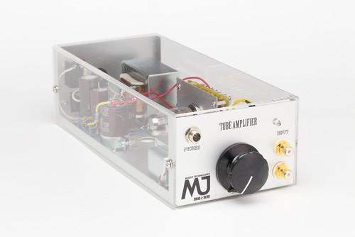 MJオリジナルECC88単球ヘッドフォンアンプパーツセット(ECC88単球ヘッドフォンアンプ主要部品セット)