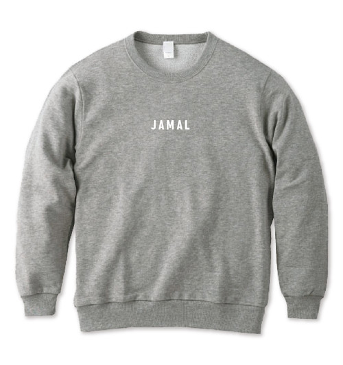 JAMAL トレーナー 杢グレー