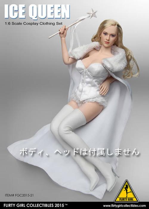 【03307】 1/6 FLIRTY GIRL コスチューム ICE QUEEN