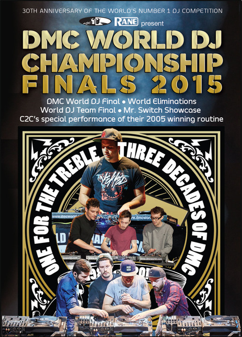 DMC WORLD DJ CHAMPIONSHIP 2015 DVD - SPECIAL PRICE