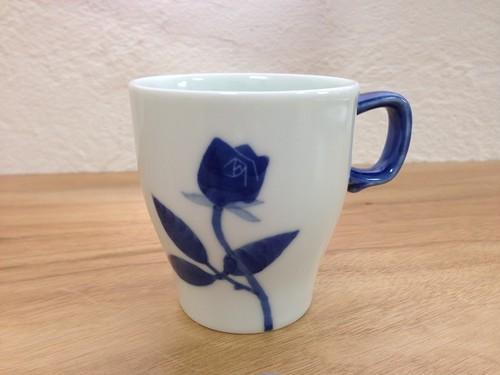 バラのデミタスカップ