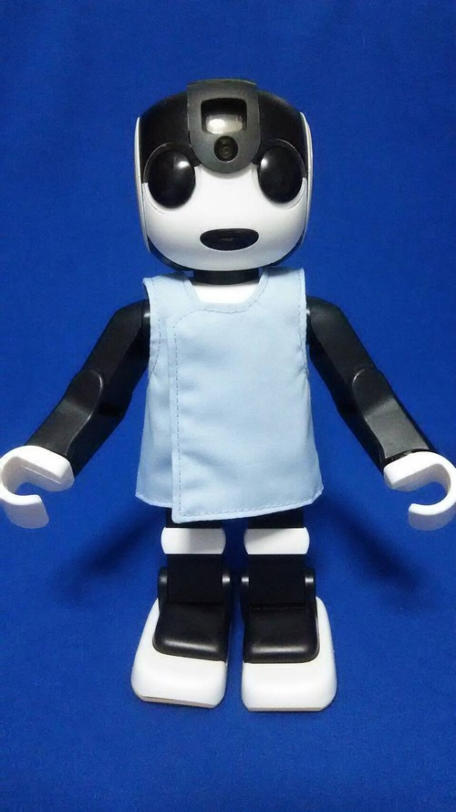 ロボット☆ファッション☆白衣☆Robohon向け RHK17-002