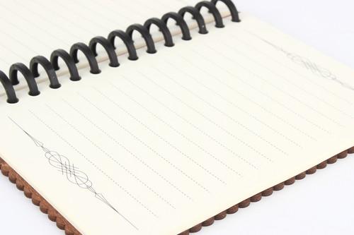 交換用ノートリーフ(木のノートブック専用)