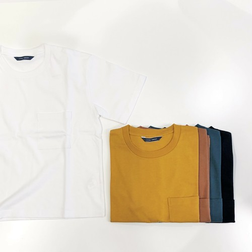 LIVING CONCEPT 【リビングコンセプト】BASIC POCKET T-SHIRT ( women's )