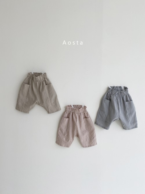 『翌朝発送』goott pants〈Aosta〉