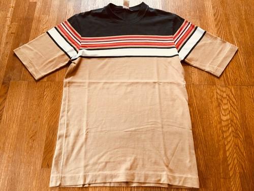 ビンテージ HANG TENG ハンテン ボーダー Tシャツ OLD サーフィン 70s 80s