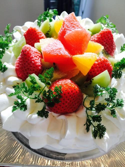 フルーツたっぷりケーキ18cm
