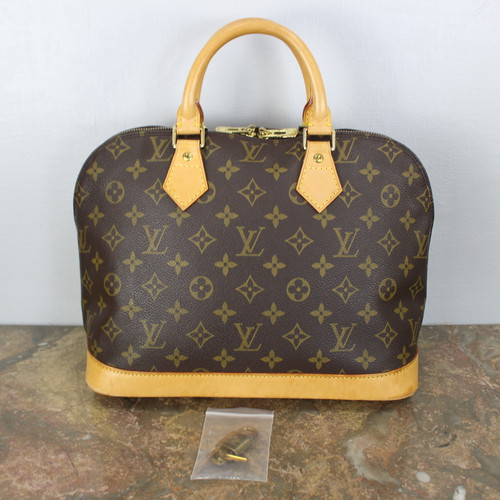 .LOUIS VUITTON M51130 TH1917 MONOGRAM PATTERNED HAND BAG MADE IN FRANCE/ルイヴィトンアルマモノグラム柄ハンドバッグ 2000000038100
