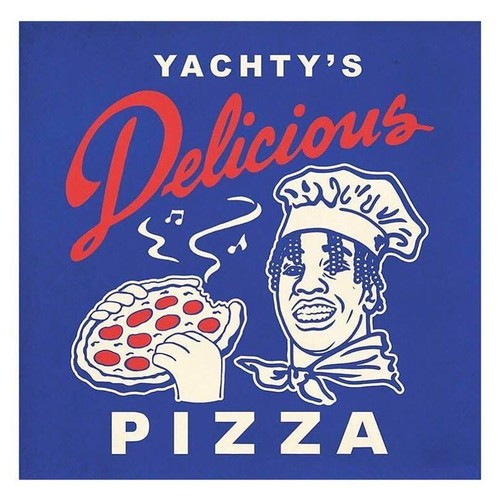 Delicious Pizza×Lil' Yachty' / Bon Appetit limited-edition T-shirt