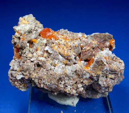 自主採掘!アリゾナ産 モリブデン鉛鉱  Wulfenite 57,7g WF022 天然石 鉱物 標本 原石