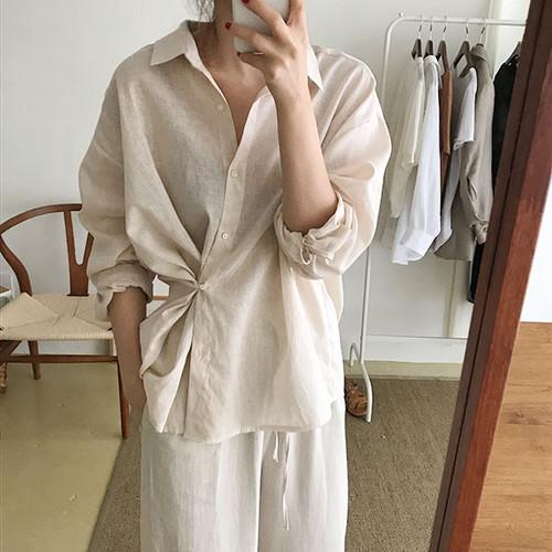 Deformation cotton shirt