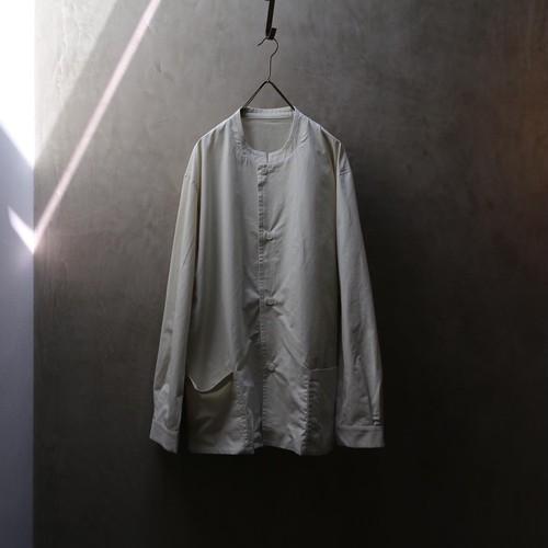 THE HINOKI OGコットンポプリン スタンドアップカラーシャツ #TH21S-1