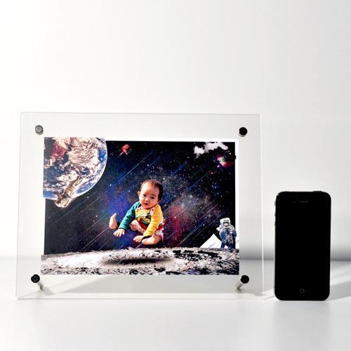 Moon - A5フォトサイズ(210×148mm) 印刷アートポスト紙 (送料無料)