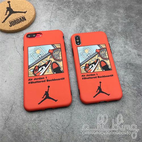 「NBA」エアジョーダン シャッタード バックボード Air Jordan 1 Shattered Backboard テーマ ソフトケース iPhoneX iPhone8 ケース