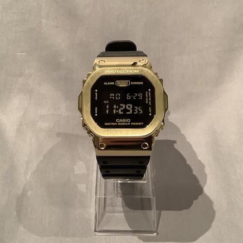 Custom G-shock DW-5600VT-1 Gold × Black