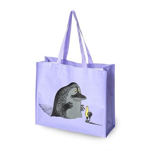 【フィンランド】 ムーミン ショッピングバッグ(紫・モラン) トートバッグ エコバッグ