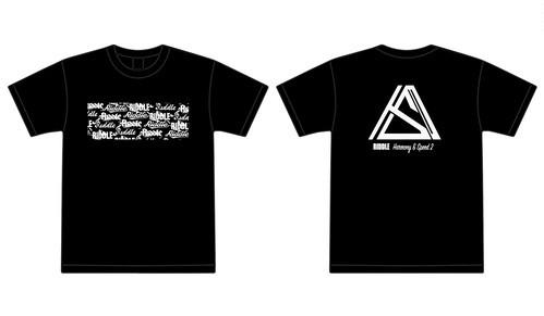 RIDDLE legendary logo T-shirt BLACK