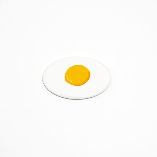 Sunny side up Can badge ( easy )