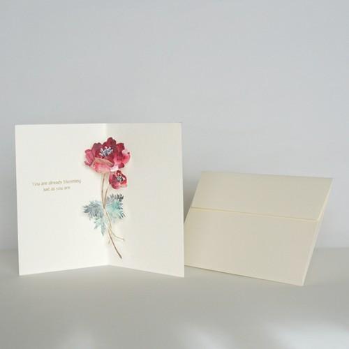 """greeting card """"Let Me Bloom"""""""
