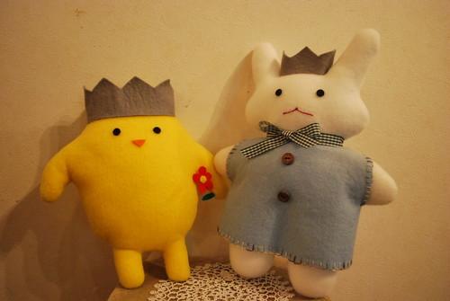 Tiki&Puffyぬいぐるみ ~グラフィックアートTiki&Puffyシリーズ~ 【清春旅と空想の美術館】