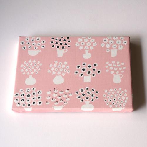 flower base (pink) ファブリックパネル
