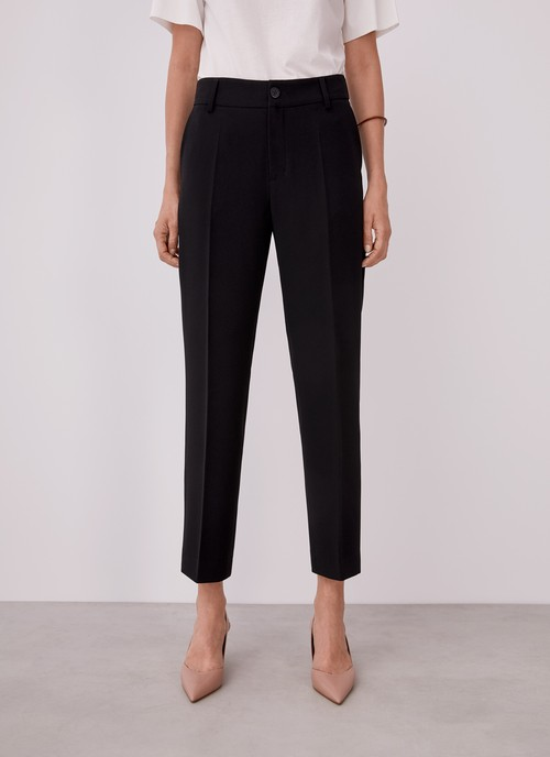 STRAIGHT ANKLE TROUSERS