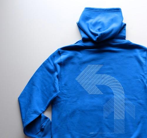 左 ! 【Zip hooded sweatshirt】4 colours