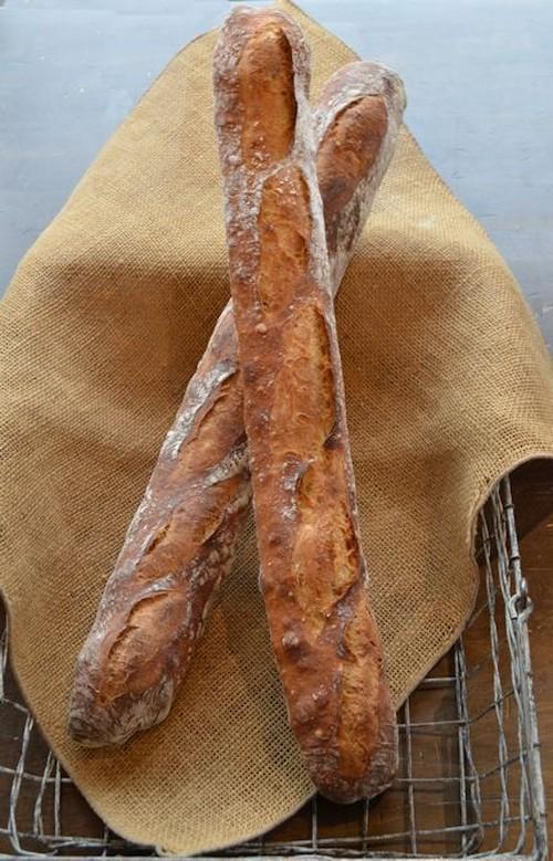 低温長時間発酵のPANJAバゲッド 2本セット