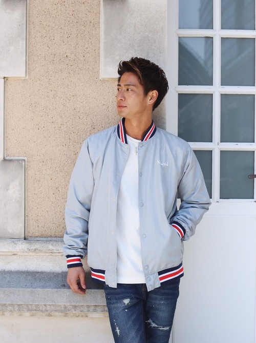 Palm Stadium Jacket(Gray)