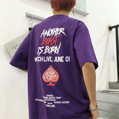 【トップス】アルファベットカジュアルTシャツ20476315