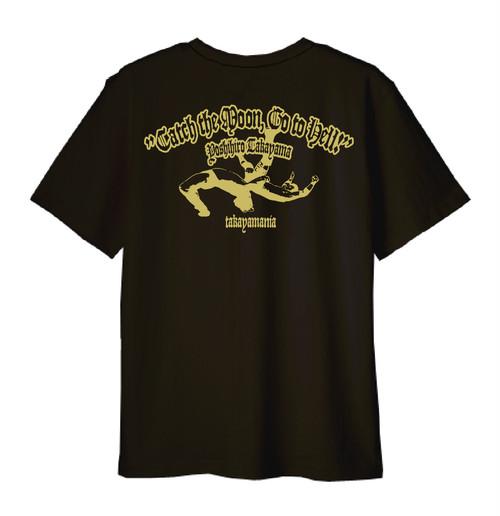 TAKAYAMANIA EMPIRE2 Tシャツ ブラックxゴールド / TME19-01