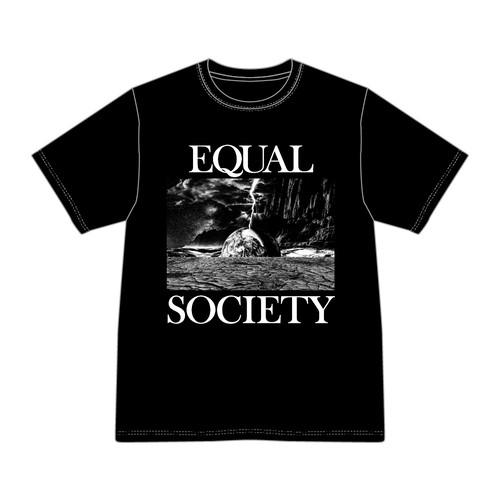 EQUAL SOCIETY T-Shirt Ver.1 BLACK [1910]