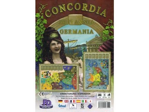 コンコルディア拡張マップ 「ブリタニア・ゲルマニア」