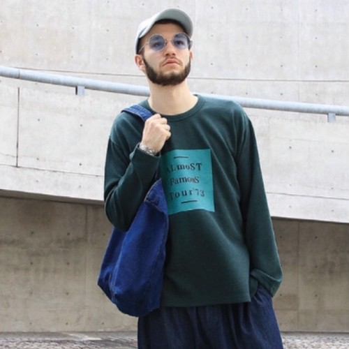 quolt / FAMOUS KNIT / DARK-GREEN