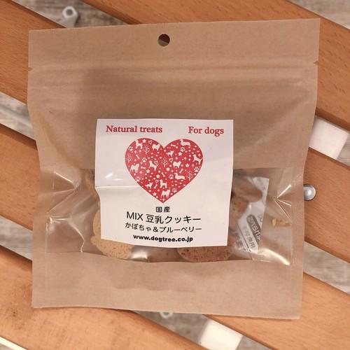 豆乳クッキー(かぼちゃ&ブルーベリー)