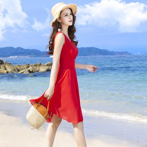 ウエストコンシャス ノースリーブ ドレス ワンピース シフォンドレス ミニ 夏 リゾート パーティ お呼ばれ きれいめ
