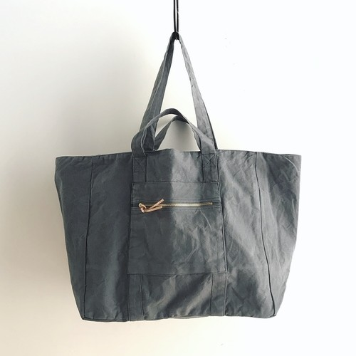 ◆Re Order◆Double Handle Tote bag/ Gray