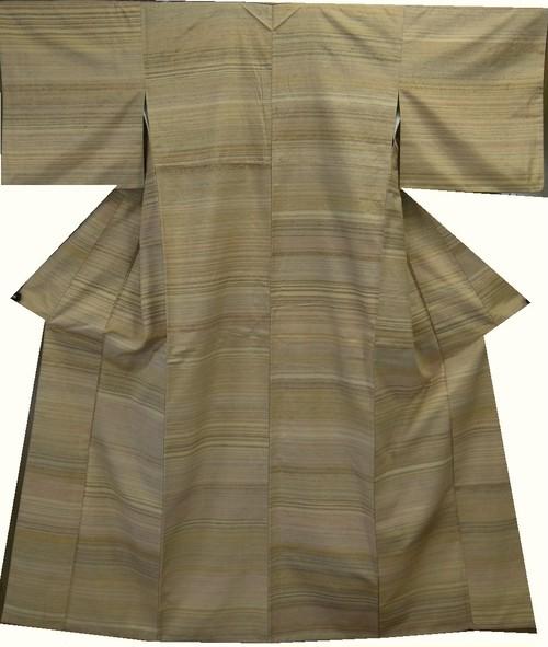 手織草木ぜんまい織紬