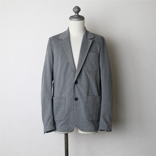 Stretch Tailored Jacket Gray
