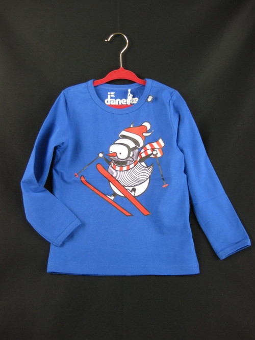 Sophus Tee 2547 Royal Blue SNOWMAN