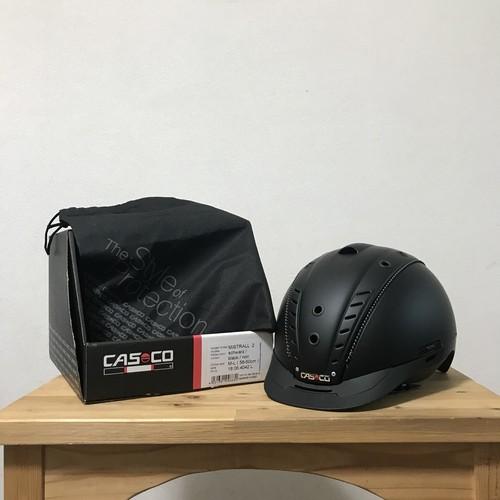 乗馬 ヘルメット Casco ミストラル2 ブラックチタン