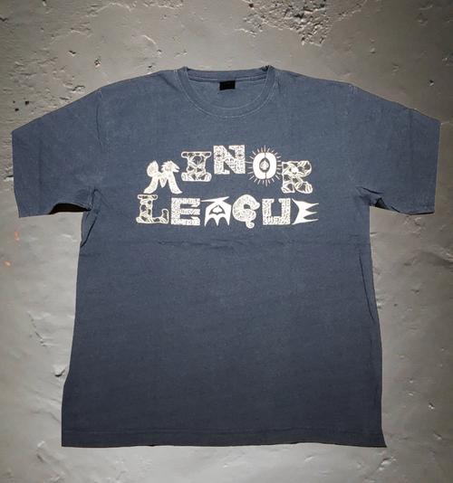 """MINOR LEAGUE """"OKINAWAデザイン"""" インディゴTシャツ"""